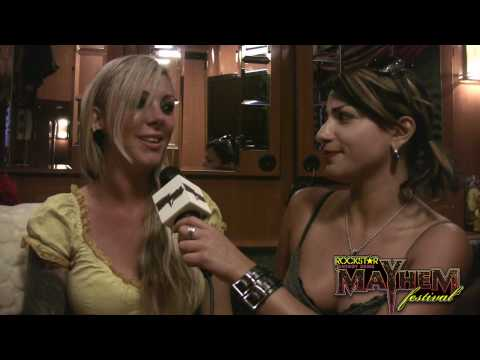 Maria Brink Interview Part 1 Video