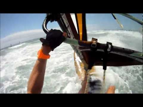 windsurfing Pozo Gran Canaria with gopro camera Rider: Ronald Stout