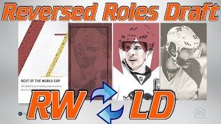REVERSED ROLES DRAFT! - NHL 17 Draft Champions