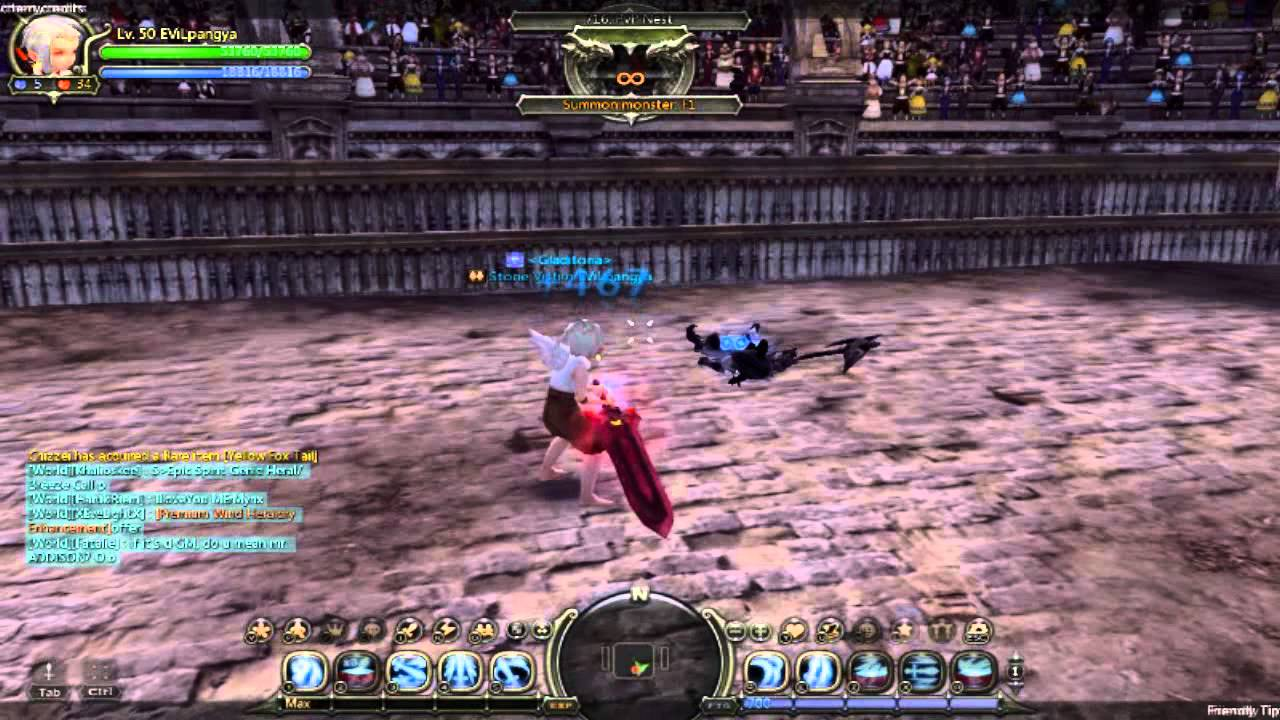 Dash Dragon Nest Dragon Nest Gladiator Combo