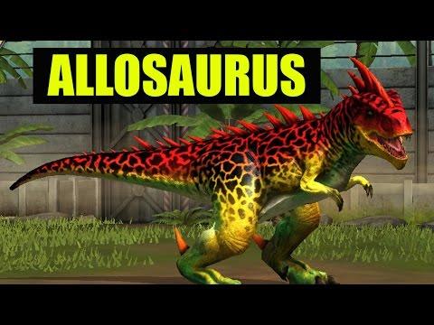 ALLOSAURUS   LEVEL 40 - Jurassic World The Game
