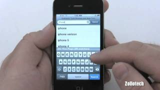 iPhone 4 Tips - Safari