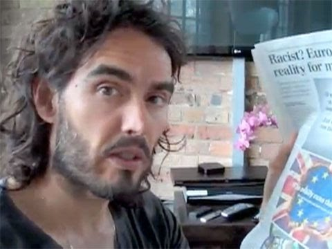 Russell Brand On How To Fight The Establishment Stranglehold On The Media