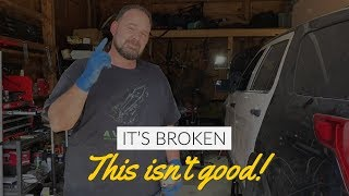 Rebuilding A Wrecked 2017 Ford Police Interceptor Utility -- Part 9
