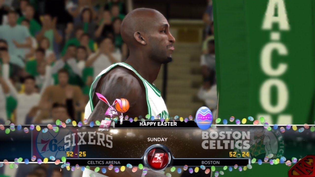 NBA 2K12 My Player Mode - Easter Sunday Game VS. Boston ...