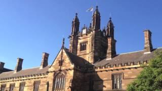 Queen's Bohemian Rhapsody played at Sydney Uni Carillon