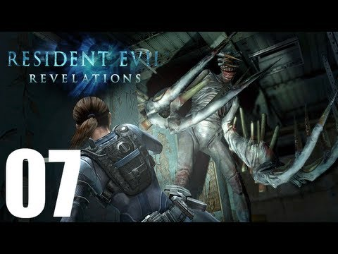Resident Evil Revelations - Walkthrough Part 7 Gameplay Let's Play [1080p]