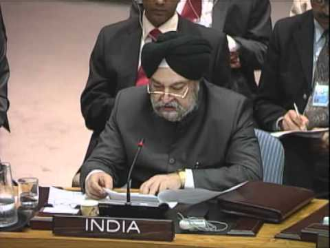 India's Position on Syria-UN Security Council