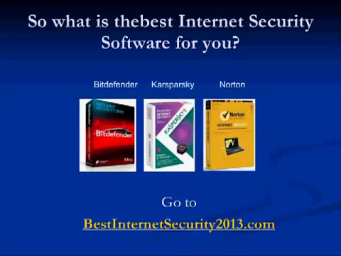 Finding The Best Internet Security Software for 2013 is easy!.