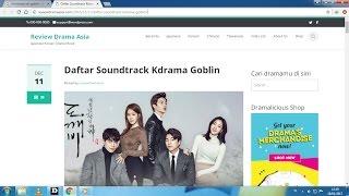 Cara Download Lagu Soundtrack Drama Korea Goblin Lengkap Terbaru