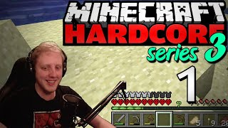 "Minecraft Hardcore - S3E1 - ""A promising beginning"" • Highlights"