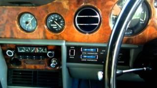 1980 model Rolls Royce Silver Shadow II