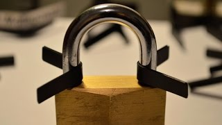 How to Open Locks with Padlock Shims ?