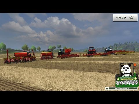 Farming Simulator 2013 Mod Review Giants New Väderstad -DLC