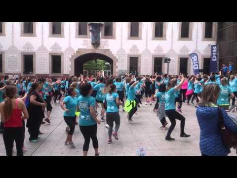 Public Sport in Barcelona Raval @ MACBA CCCB Museum by Sun Radio Ibiza TV