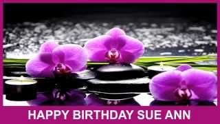 Sue Ann   Birthday Spa - Happy Birthday
