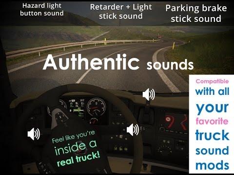 [ETS2 v1.22] Sound Fixes Pack + Hot Pursuit Sounds [ v9.0 ]