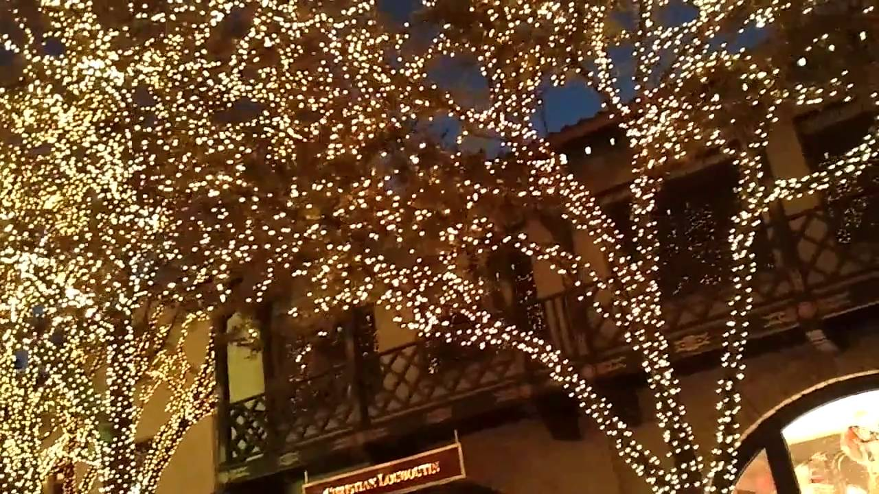 Christmas Lights Highland Park