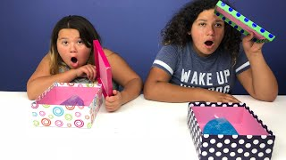 MYSTERY BOX OF SLIME GLOVES SWITCH- UP CHALLENGE!!!