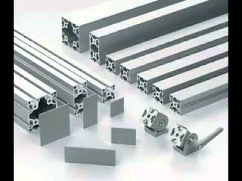 Como ensamblar perfiles de aluminio