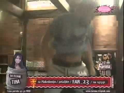 Farma Srbija 3 / 16.09 Striptiz do gaća !!!