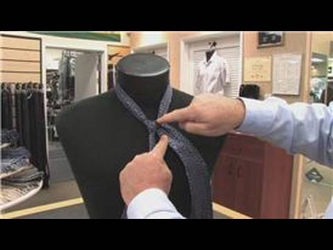 How to Tie Neckties & Bow Ties : How to Tie a Half Windsor
