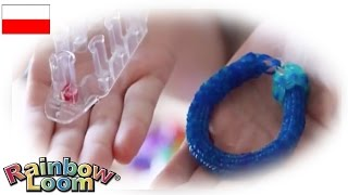 "Rainbow Loom MonsterTail ""Bransoletka Hexafish"""