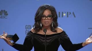 Powerful Speech by Oprah Winfrey at 2018 Golden Globes