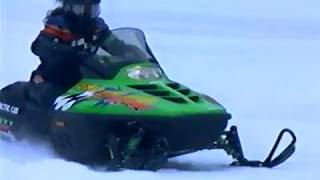 1997 Arctic Cat Action Sales Product Lineup Models Promo Snowmobile video