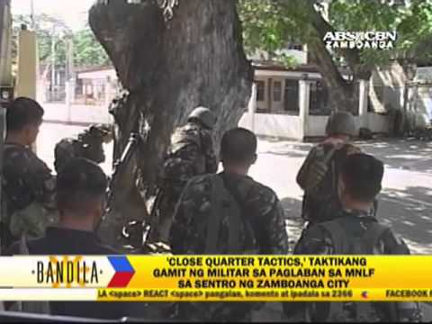 Troops use close quarters combat skills vs MNLF rebels Image 1