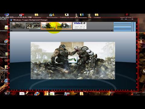 como cambiar el orb y la pantalla de inicio de windows 7
