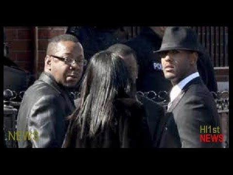 Bobby Brown Leaves Whitney Houston Funeral and Release Statement -- News Story