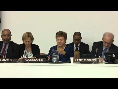 Commissioner Georgieva: Commissioner's speech before the UNICEF Executive Board