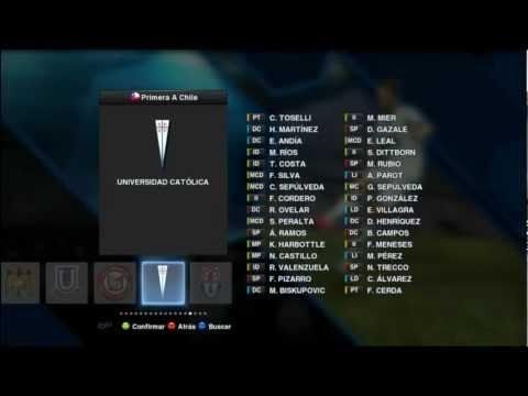 Descargar e Instalar Parche Liga Chilena 1.0 para Pes 2013 PC