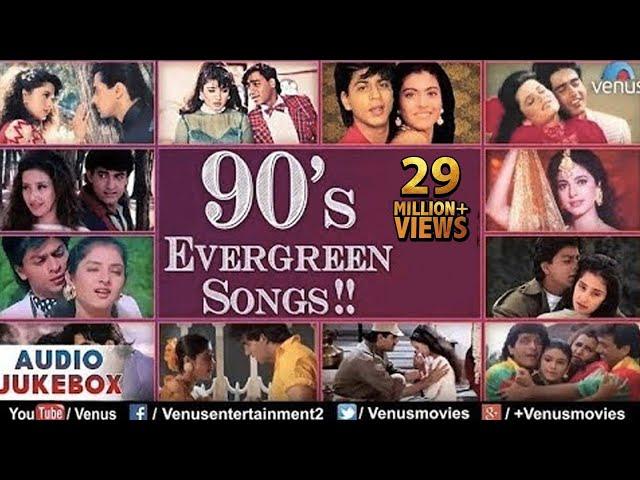 Bollywood 90's Evergreen Songs : Best Hindi Songs ~ Audio Jukebox