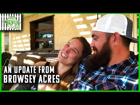 Ronda Rousey And Travis Browne Have An Update From Browsey Acres
