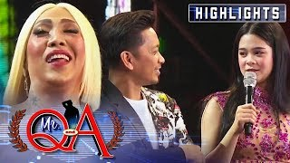 Vice asks Jhong about Sanrio | It's Showtime Mr. Q and A