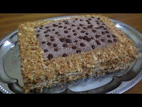 """Торт """"Медовик Воздушный""""!!!(нежный воздушный торт, не требующий пропитки!!!)"""