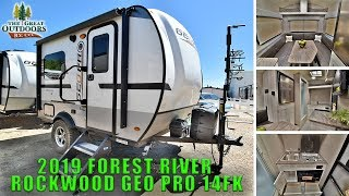 New 2019 ROCKWOOD GEO PRO 14FK Lightweight Travel Trailer Off Road Package Colorado Sales Dealer