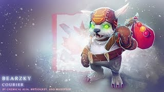 Dota 2 Workshop: Bearzky the Polar Ursine ~ʕ •ᴥ•ʔ