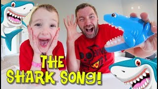 Father & Son SING THE SHARK SONG! / It Eats Everything!