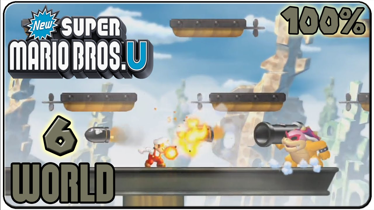 New Super Mario Bros U Rock Candy Mines New Super Mario Bros  U