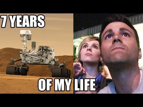 NASA's Curiosity landing- 1 of her creator's POV