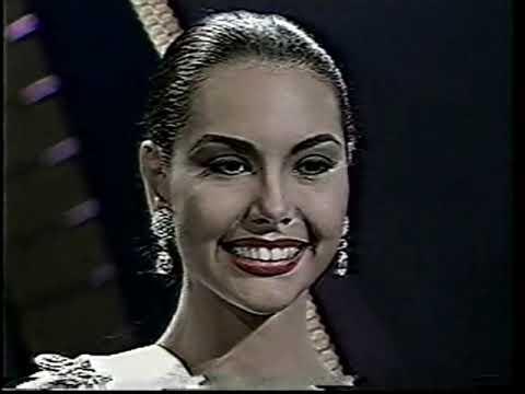 JULIO NAVARRO PRODUCCIONES 3 PARTE MISS UNIVERSO 1994 VIRREINA CAROLINA GOMEZ