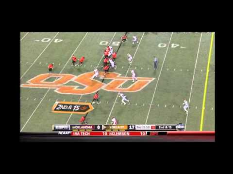 Joseph Randle vs Oklahoma 2011
