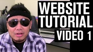 Website Tutorial - Video 1: Web Hosting and Domain Names