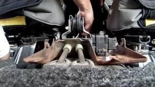 Jeep Wrangler JK Parking Brake Replacement
