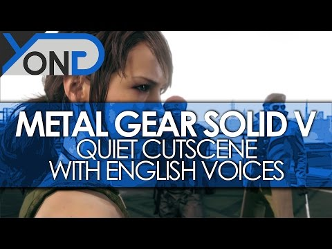 Metal Gear Solid V - Quiet Cutscene w/ English Voices