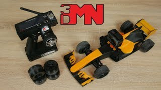 #OpenRC - Fully 3D Printed RC McLaren F1 Racing Car