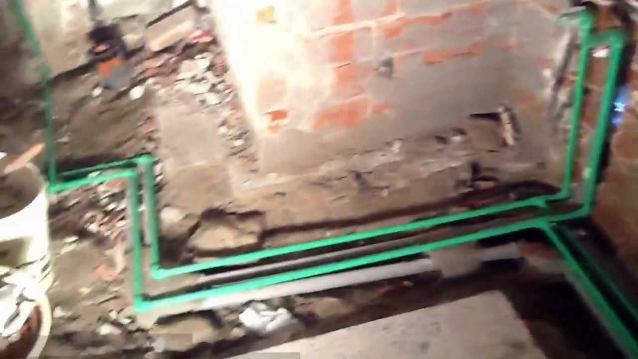 Impianto idraulico del bagno interno di casa smepool.com